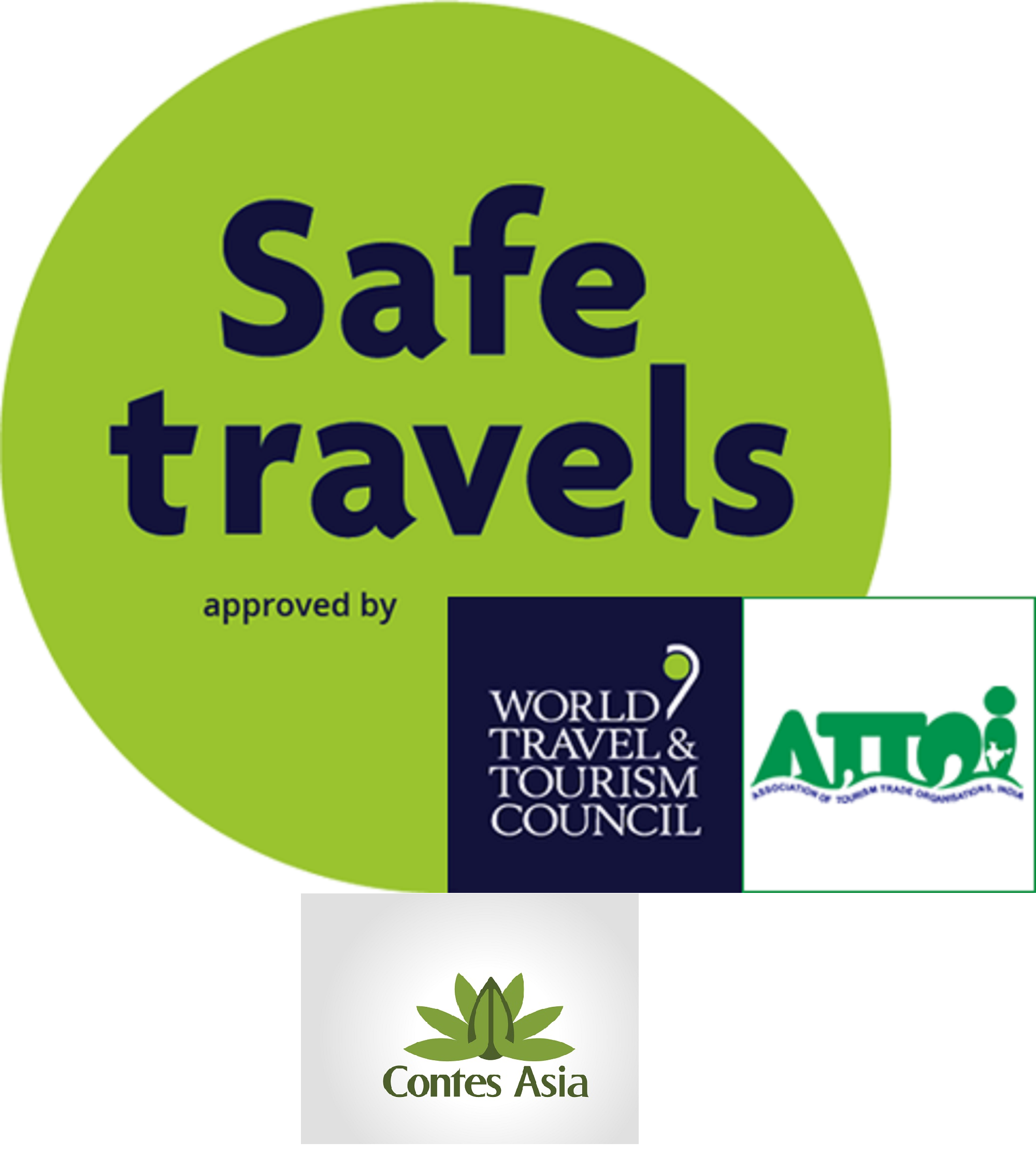 Safe Travels Stamp- Contes Asia
